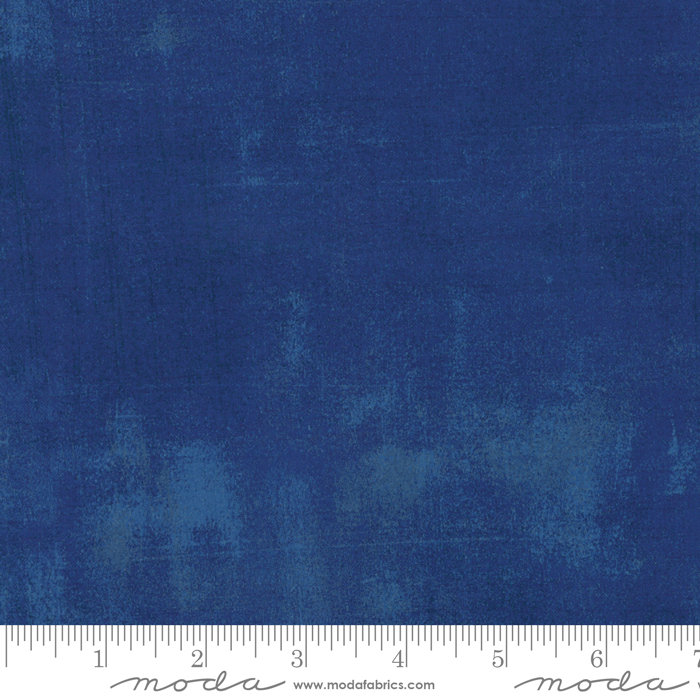 Moda Grunge Fabric Cobalt 30150 223