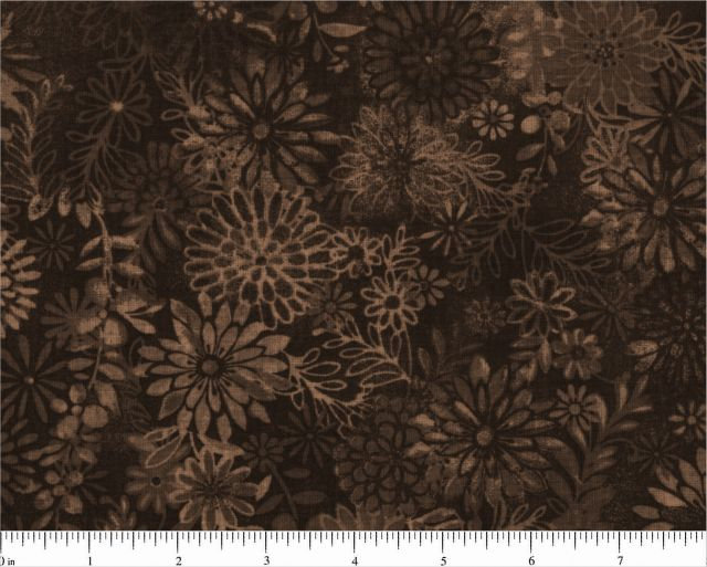 Santee Works Fabrics Quilt Backing 108 Wide Brown BD-48382-701