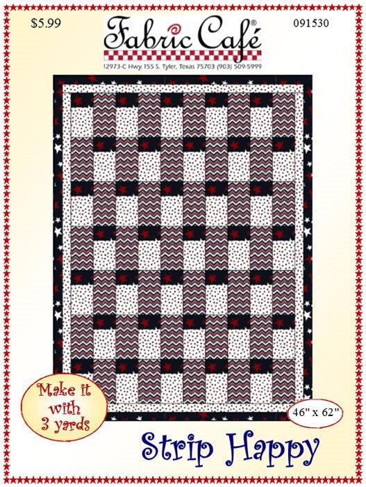 Strip Happy 3 Yard Quilt Kit #5000
