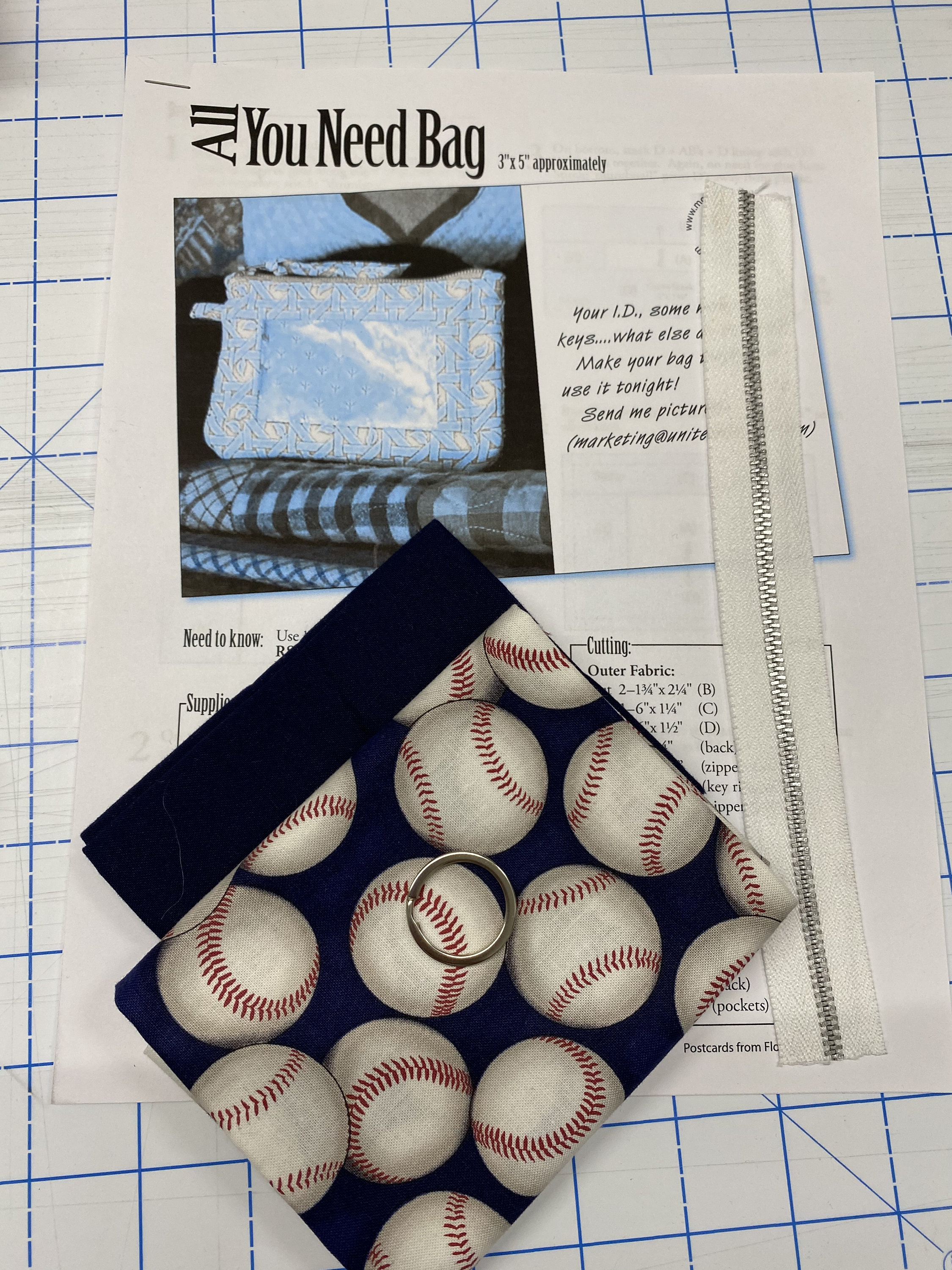 All You Need Pouch Kit - Baseball