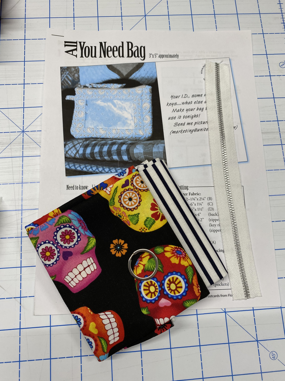 All You Need Pouch Kit - Día de los Muertos