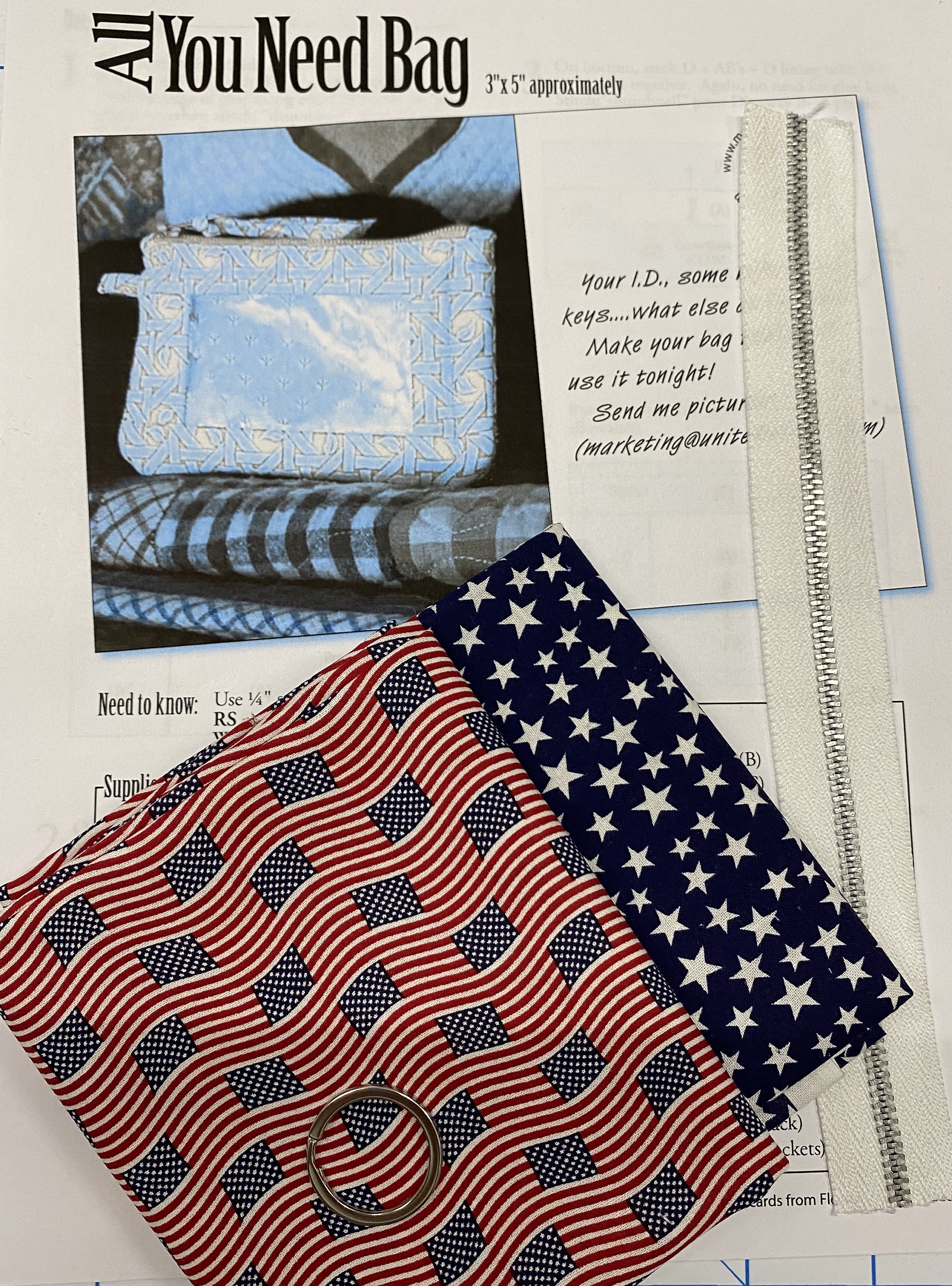All You Need Pouch Kit - Patriotic