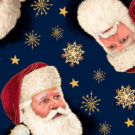 Christmas Eve Santa Head Toss 26627 N by QT