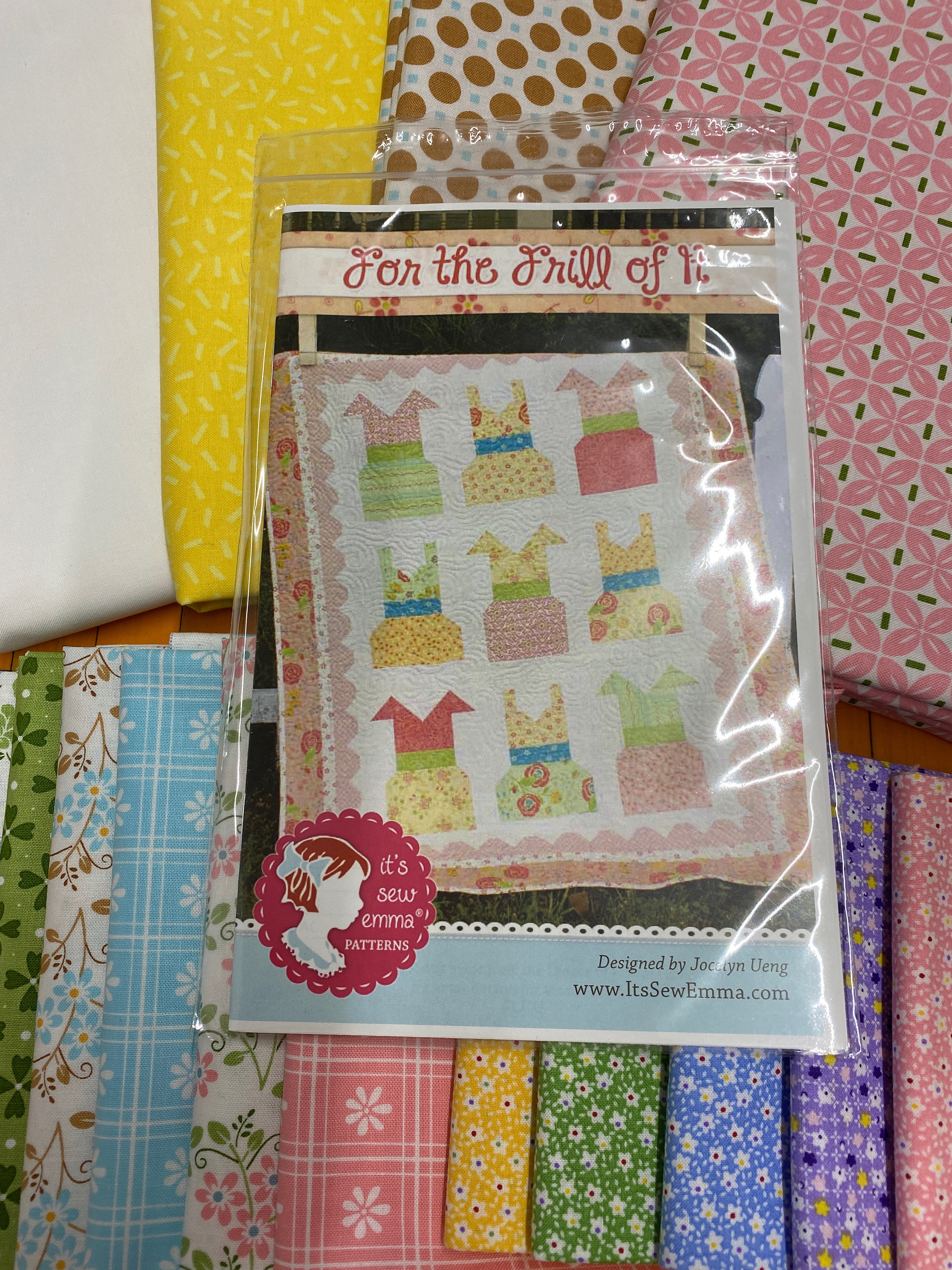 For the Frill of It Quilt Kit