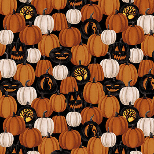 Harvest Moon Small Pumpkins By Studio E Fabrics