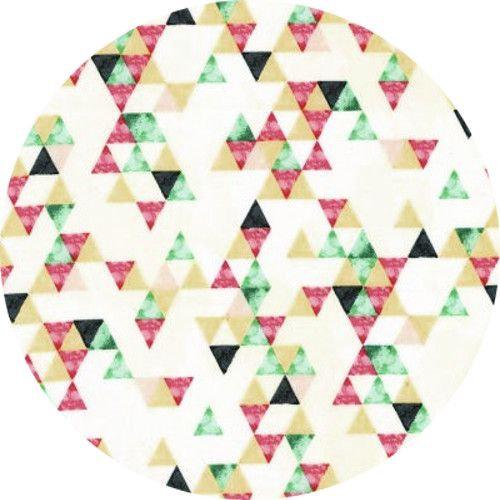 Hoffman Fabrics Desert Dawn Geometric Flamingo Fabric