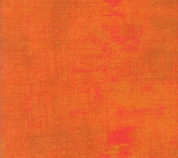 Moda Grunge Basic Fabric Russet Orange 30150 322