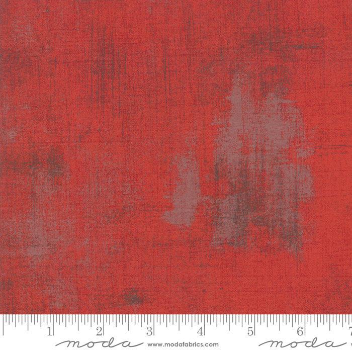 Moda Grunge Basics Red 30150 151
