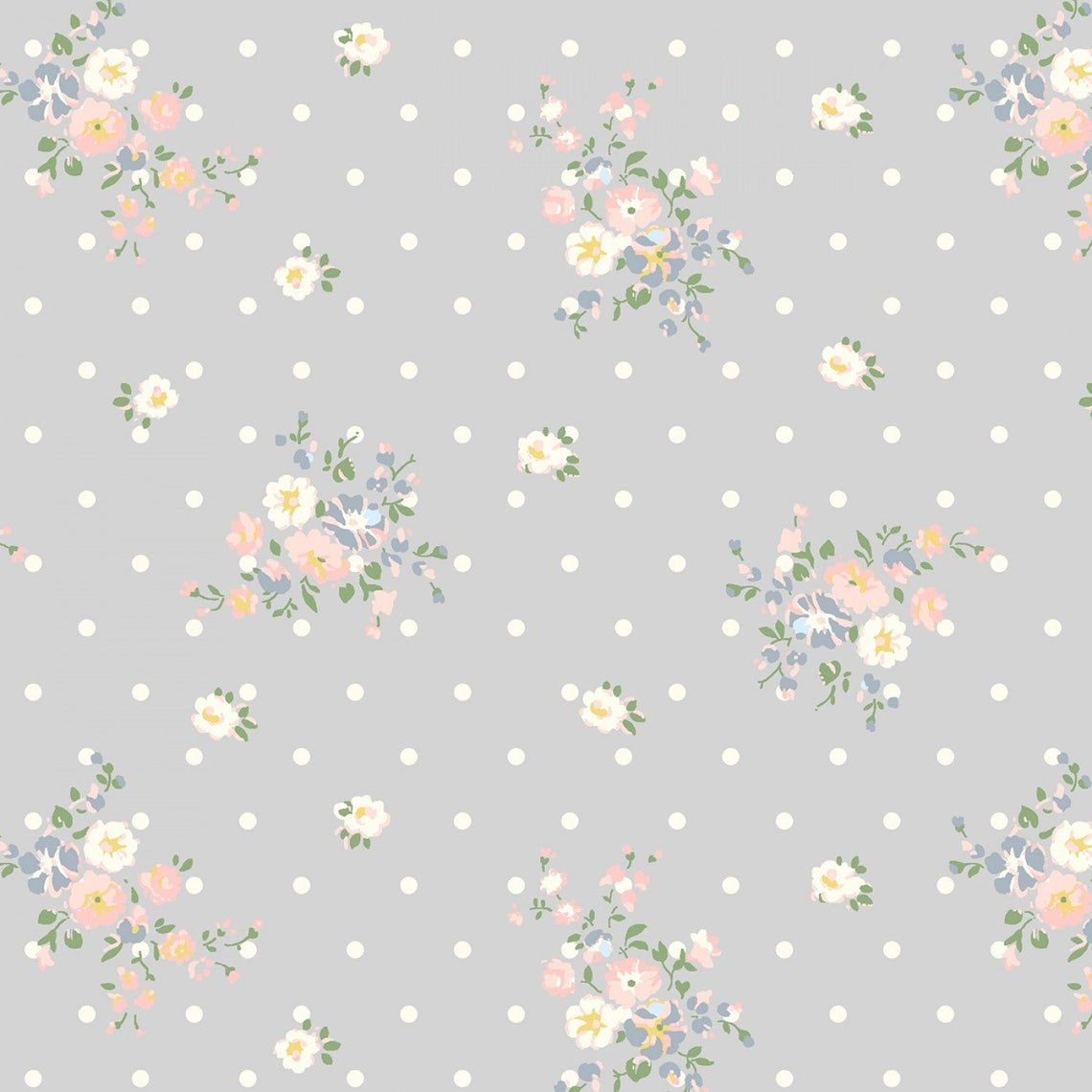 Windham Fabrics Roslyn Floral and Dot