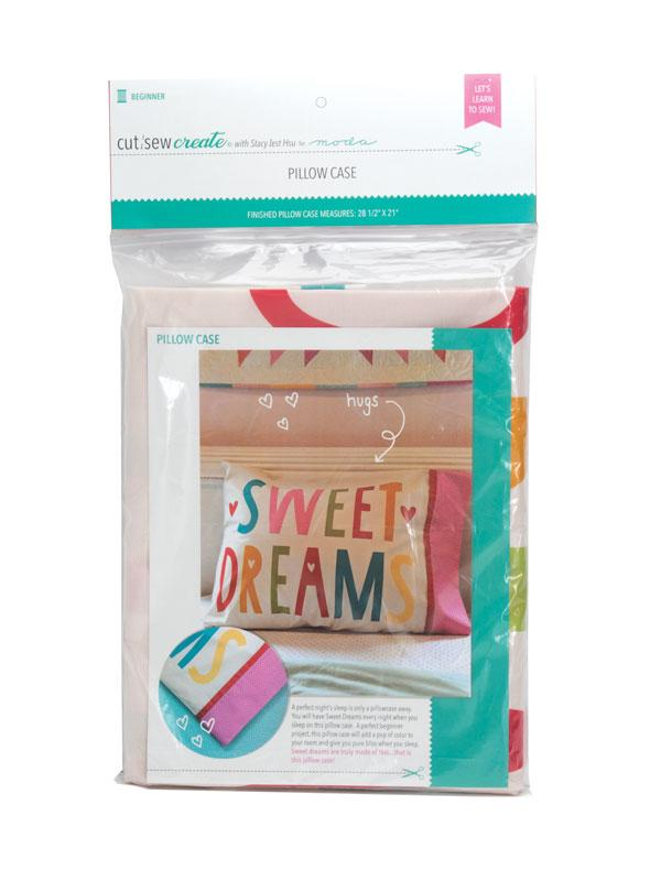 Cut Sew Create Sweet Dreams Pillow Case Kit By Moda