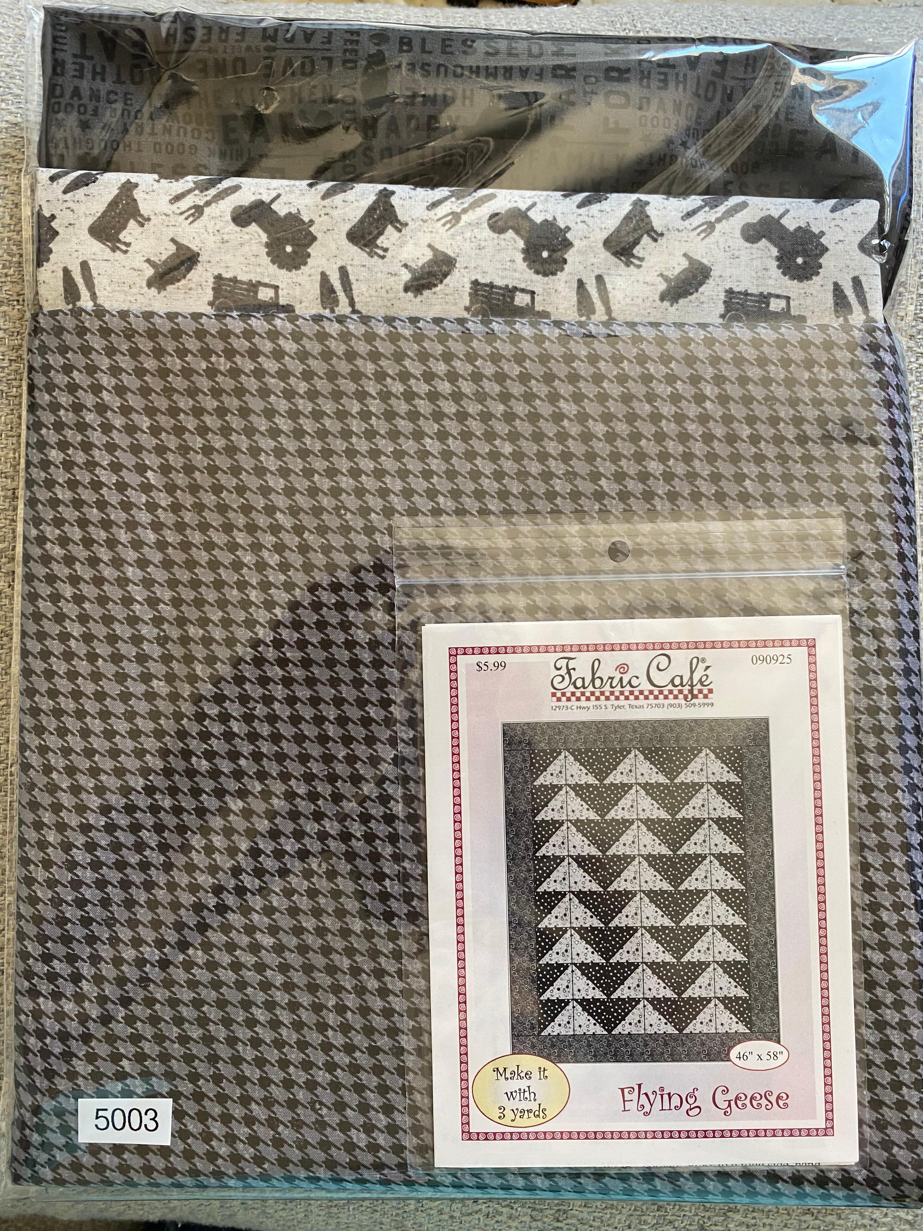 Flying Farm Quilt 3 Yard Quilt Kit #5003