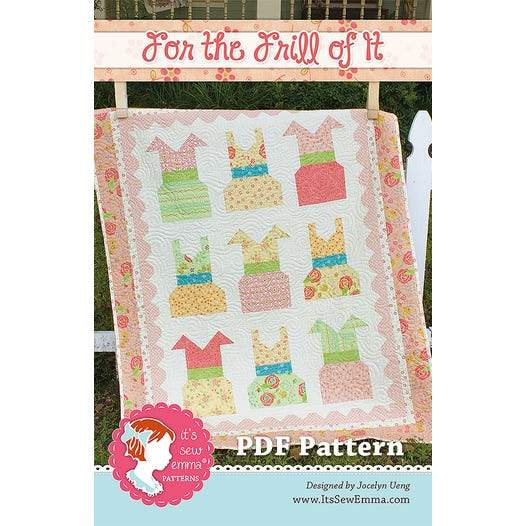 For the Frill of It Quilt Kit 42.5x54.5