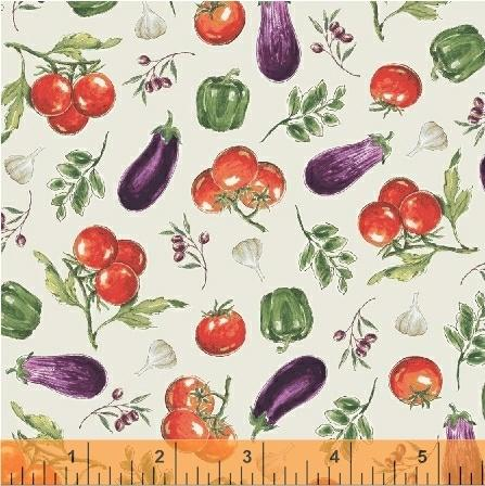 Last Call - Windham Bella Toscana - Vegetables Sole Yardage By Whistler Studios 51352-3