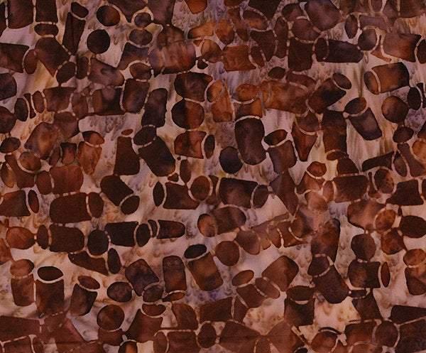 Northcott Banyan Batiks Vino Hazelnut Wine Bottle Corks 80224-26