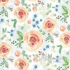 P4335-562 Blooms by Hoffman Fabric