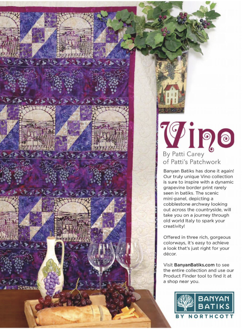 Sonoma Trails Quilt Kit w/Vino Fabrics