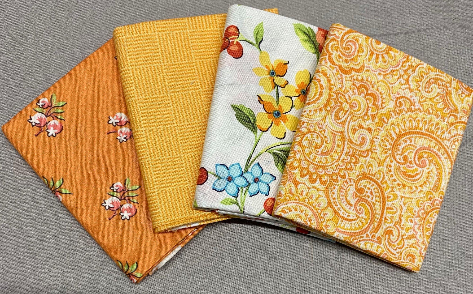 Roseberry Cottage Fat Quarter Bundle Andover Fabrics 108