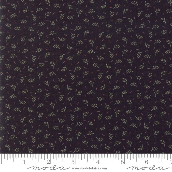Sweet Holly 9632 19 Black by Kansas Troubles for Moda Fabrics