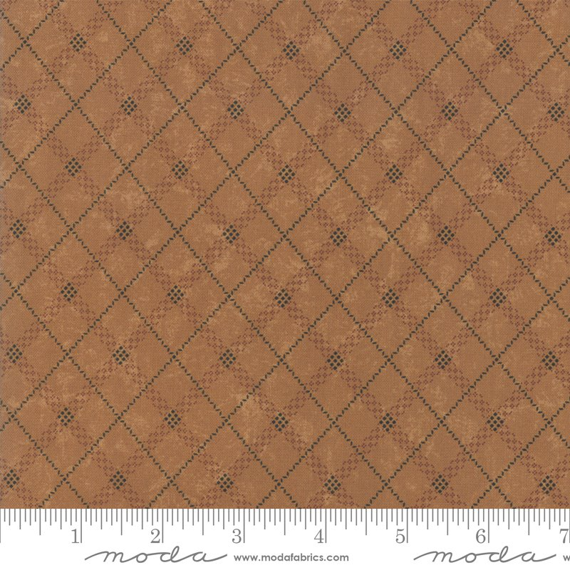 Sweet Holly Gold Gift Wrap Plaid By Kansas Troubles 9635 12