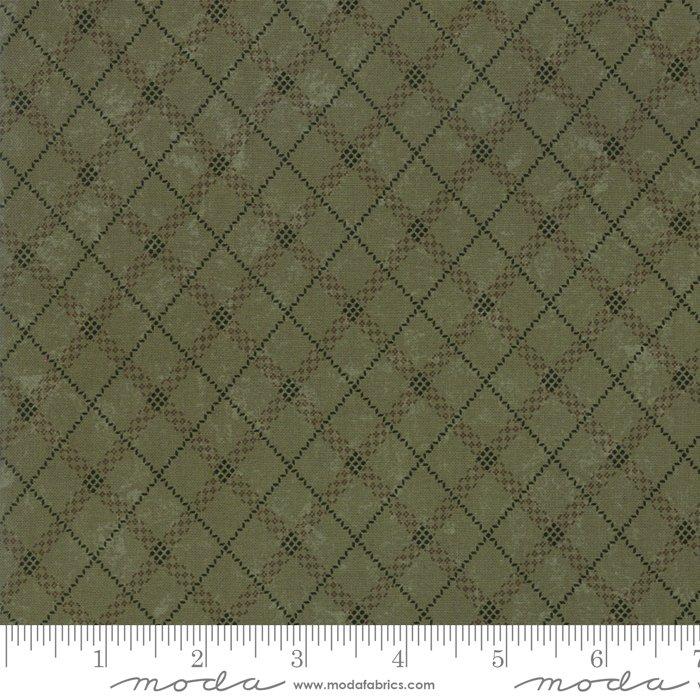 Sweet Holly 9635 15 Green by Kansas Troubles for Moda Fabrics