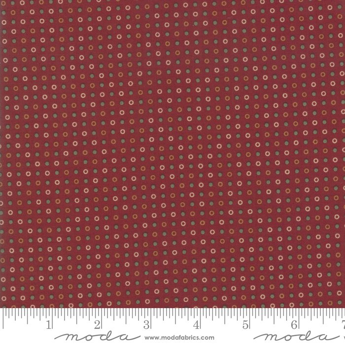 Sweet Holly Red 9637 13 By Kansas Troubles For Moda