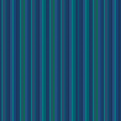 Contempo Warp & Weft Premium Yarn Dyes Blue Stripe Blue Fabric
