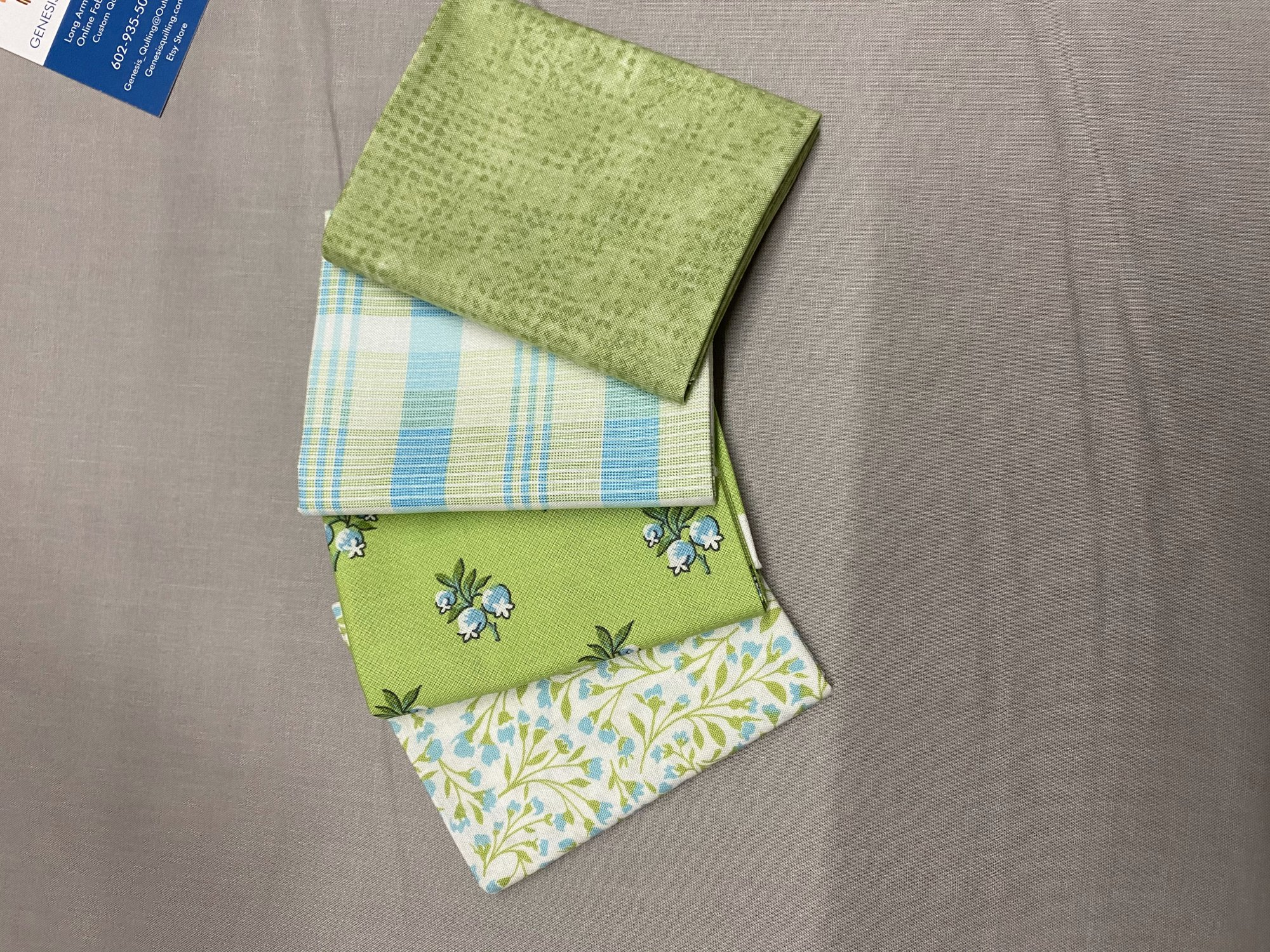 Roseberry Cottage Fat Quarter Bundle Andover Fabrics 106
