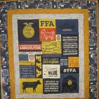 FFA Forever Blue Lap Quilt