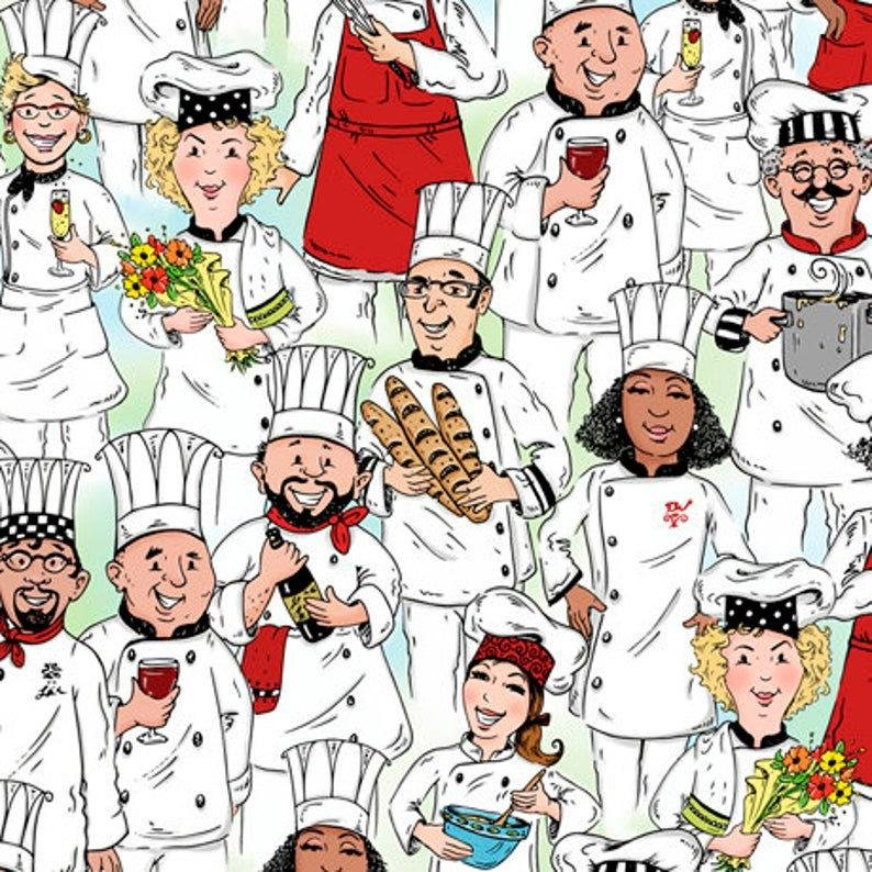 Chef's Special Packed Chef's 27640 H By QT Fabrics