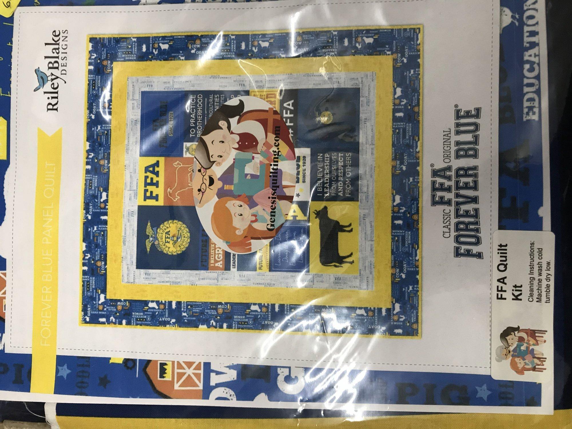 FFA Forever Blue Quilt Kit