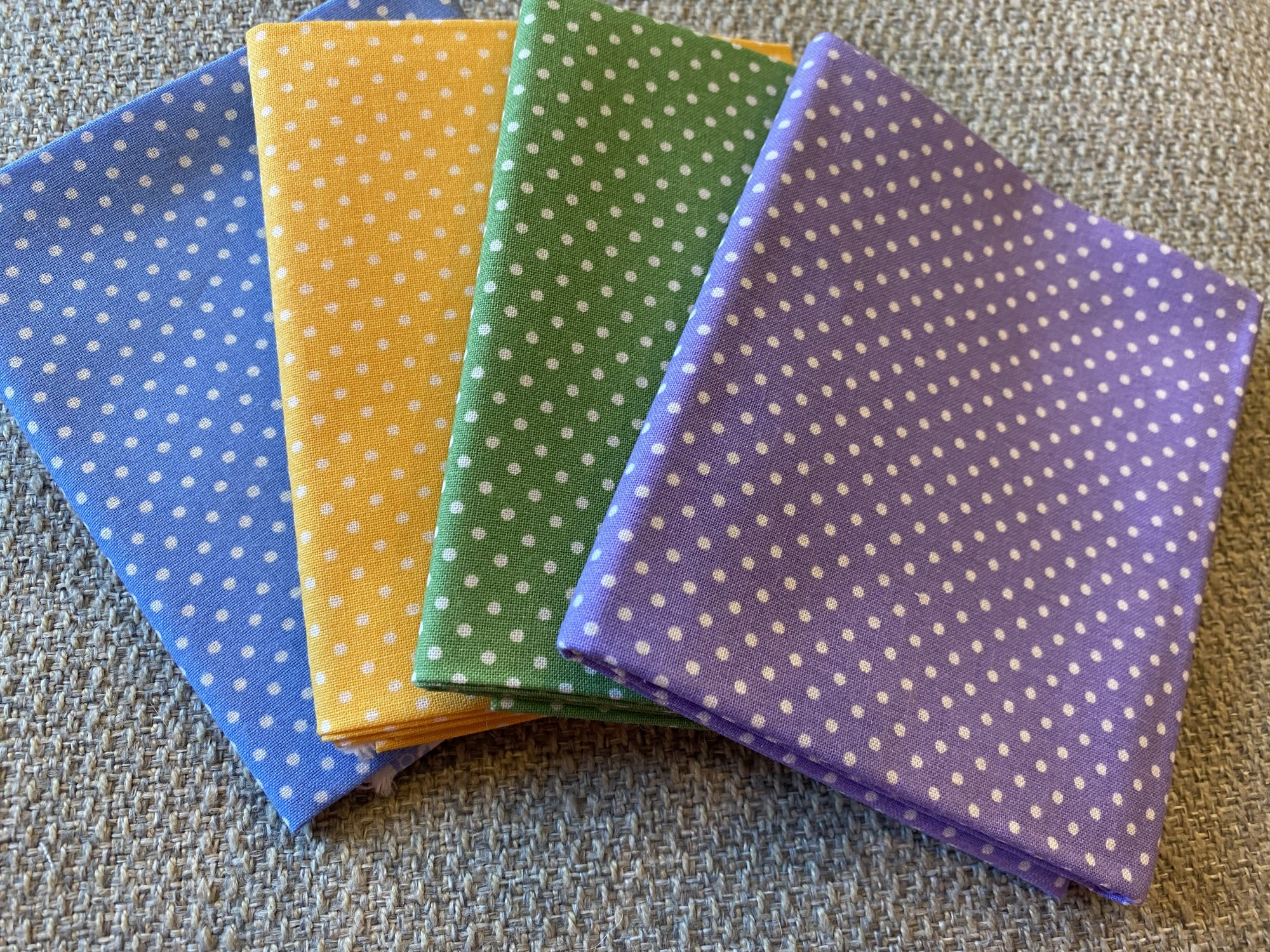 Polka Dot Fat Quarter Bundle #128