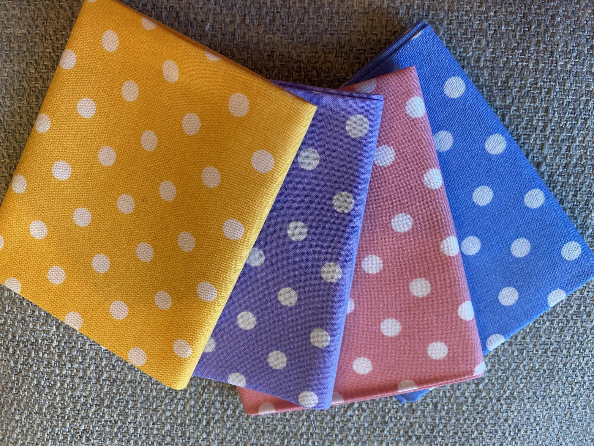 Polka Dot Fat Quarter Bundle #130