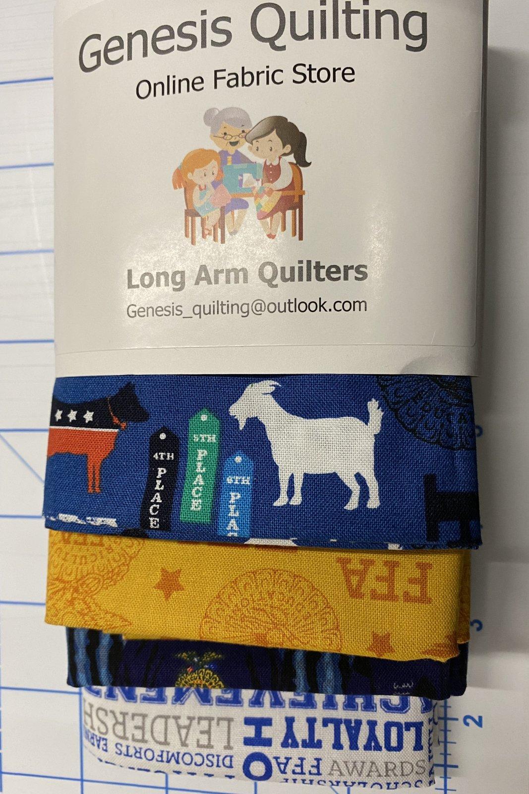 FFA Fat Quarter Bundle (4 Fabrics)