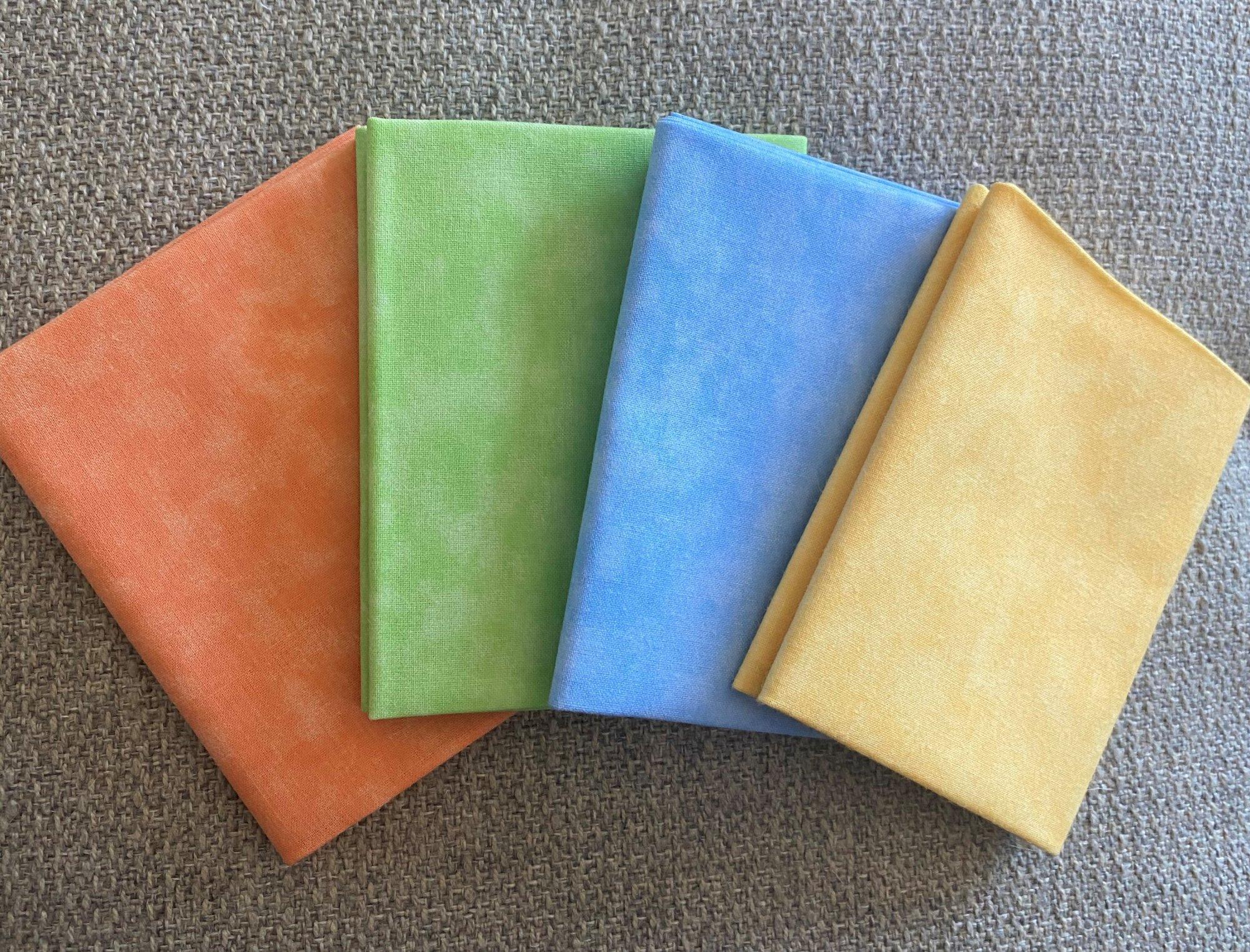 Pastel Solid Blender Fat Quarter Bundle #129