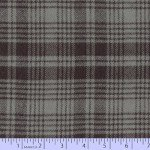 Marcus Fabrics J345-0144 R09 Primo Plaid Flannels: Smokey