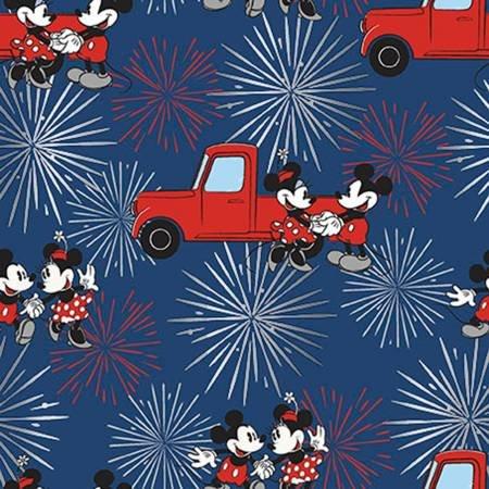 Disney Mickey & Minnie Fireworks w/Metallic By Springs Creative