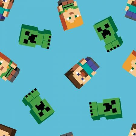 Mojang Minecraft Friends Fabric by Springs Creative