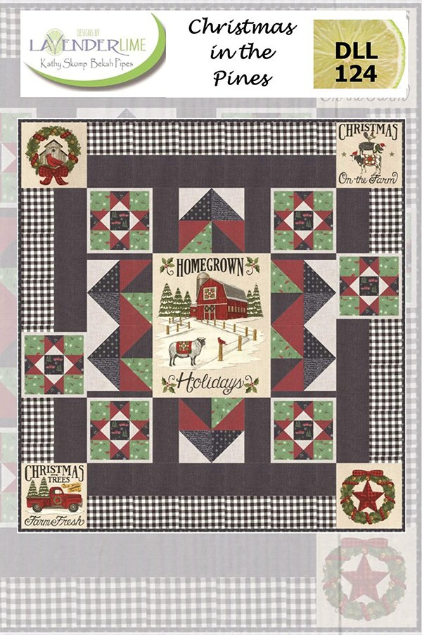 Christmas In The Pines Quilt Kit