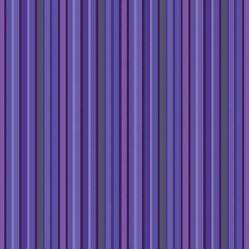 Contempo Warp & Weft Premium Yarn Dyes Purple Stripe Purple Fabric