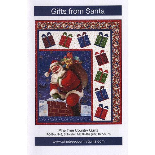 QT Fabrics Gifts From Santa Quilt Kit