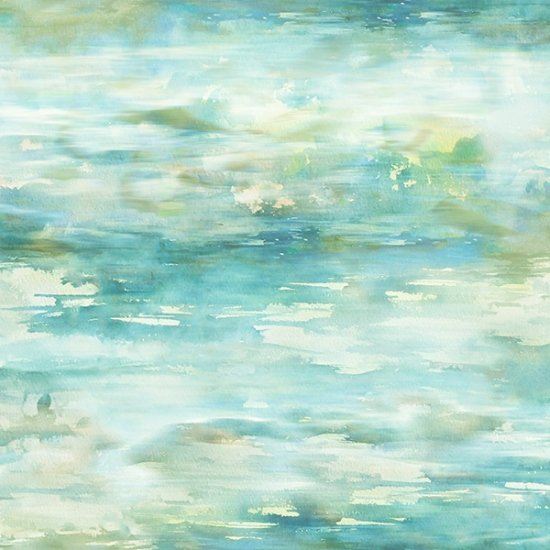 Hoffman Fabrics Shoreline Stories Seagrass S4804-522-Seagrass