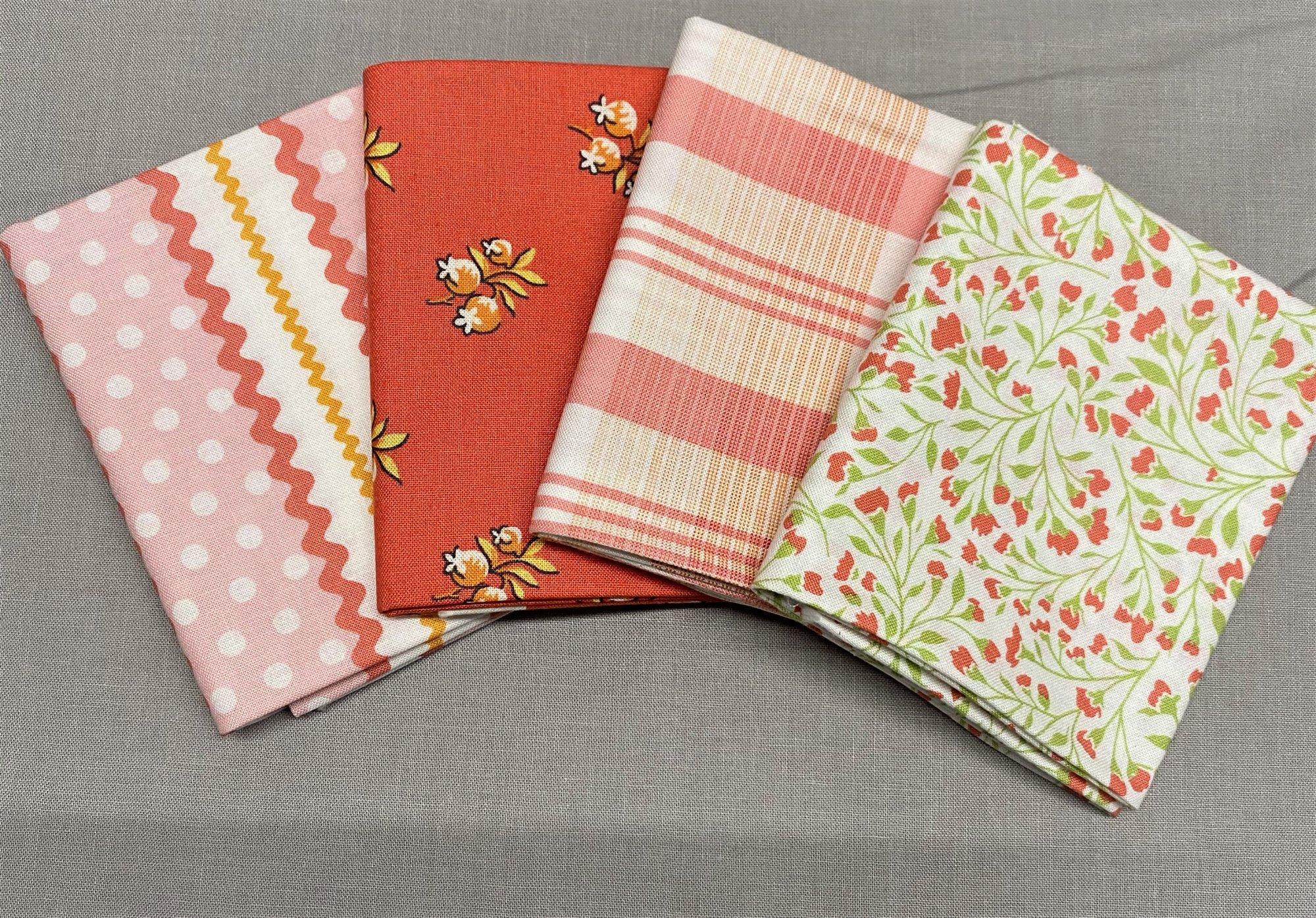 Roseberry Cottage Fat Quarter Bundle Andover Fabrics 104