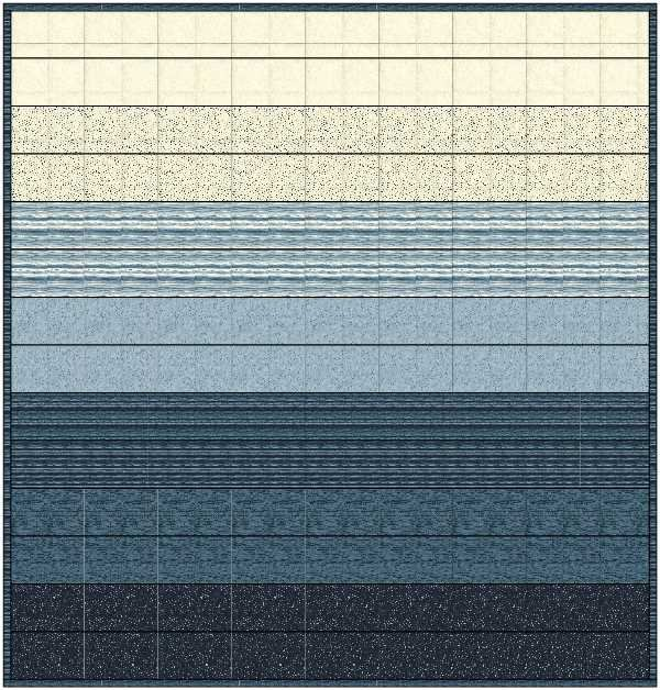 The Blues Queen Quilt Kit
