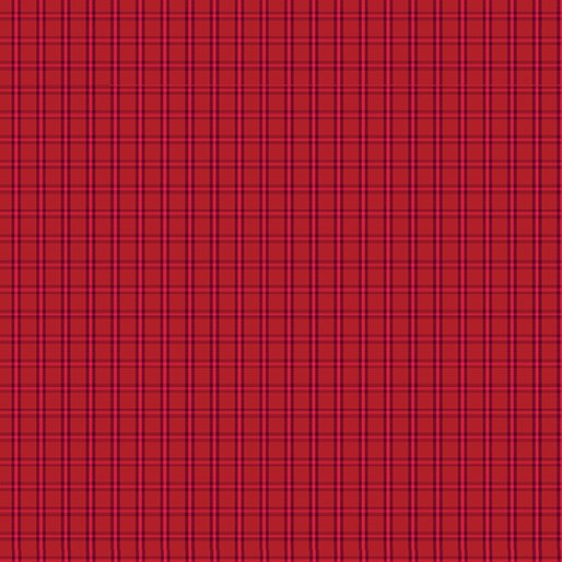 Contempo Warp & Weft Premium Yarn Dyes Tiny Plaid Red Fabric