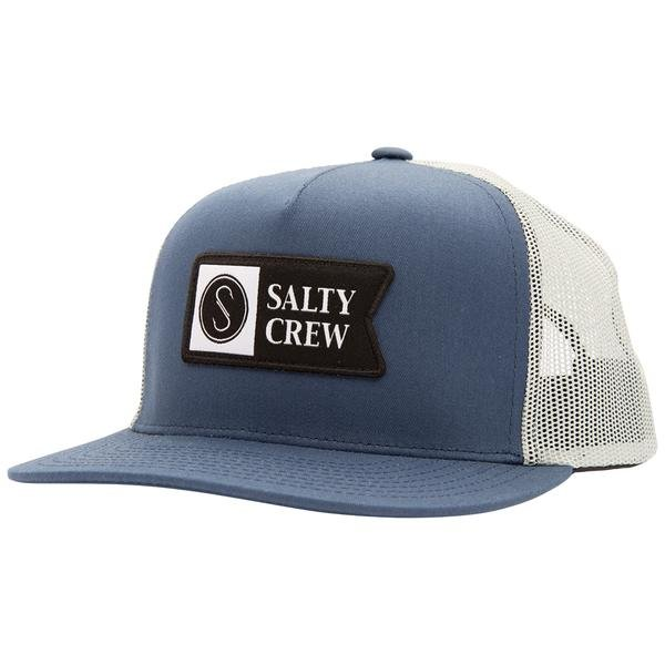 SALTY CREWW - ALPHA TRUCKER NAVY/ ICE