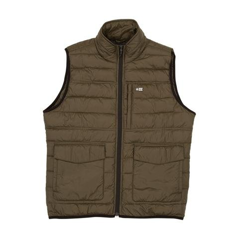 SALTY CREW BARRIER VEST MILITARY