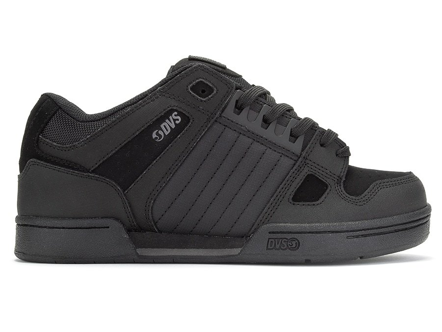 DVS-CELSIUS BLACK BLACK LEATHER