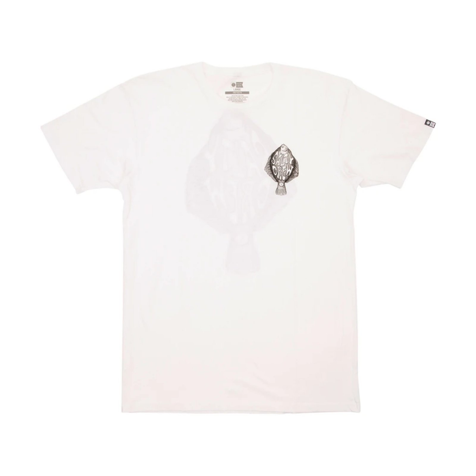 SALTY CREW - FLATTY SS TEE WHITE