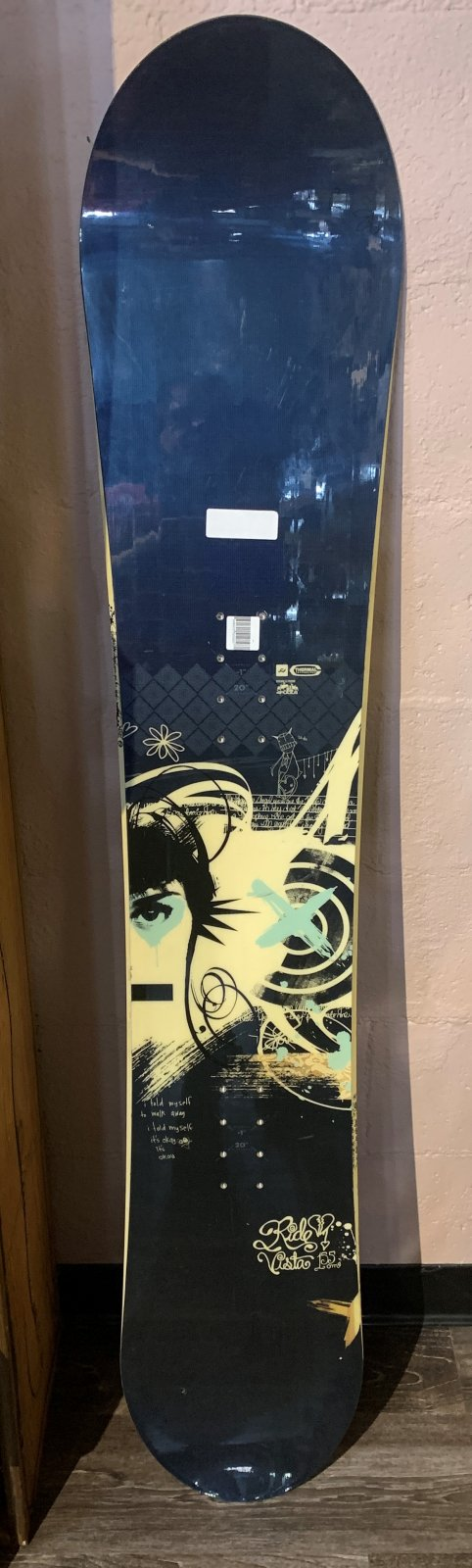 RIDE SNOWBOARD VISTA  155