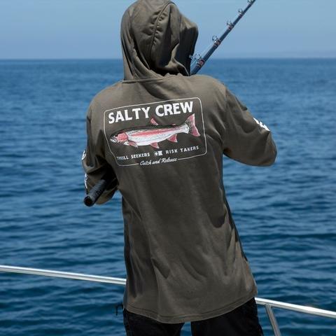 Salty Crew  Steelhead Tech Tee